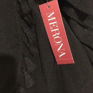 fca3995c85fec Merona Swim - EUC Merona tassel shirtdress swim cover up XL